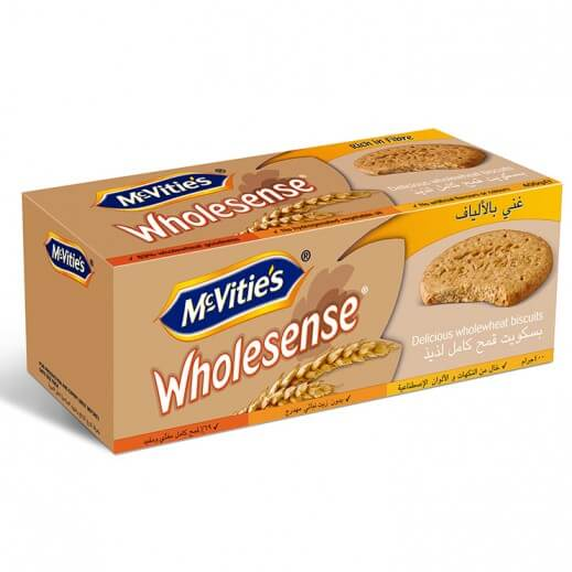 MC VITIE'S WHOLESENSE BISCUITS 400 G
