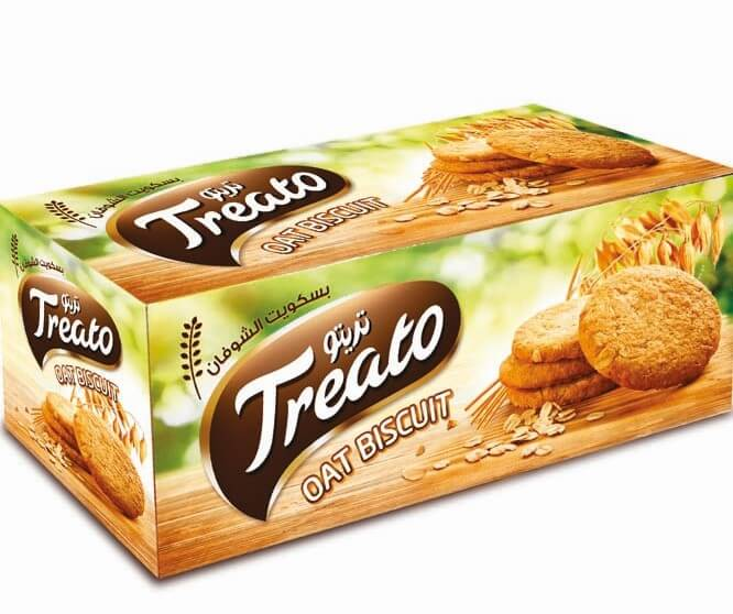 Treato oats biscuit 280g