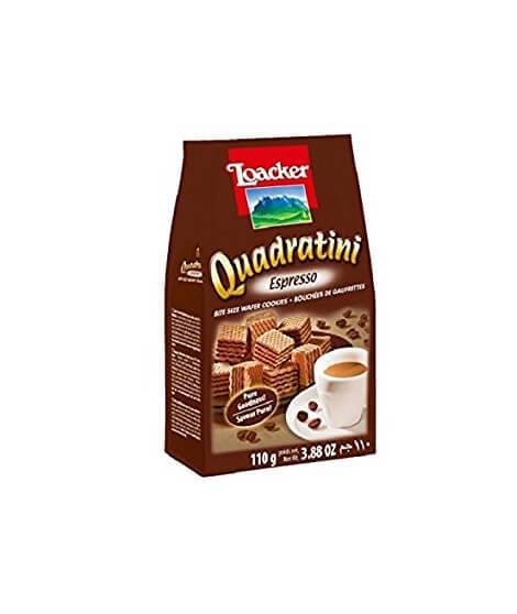 Loacker - Quadratini Espresso 110g
