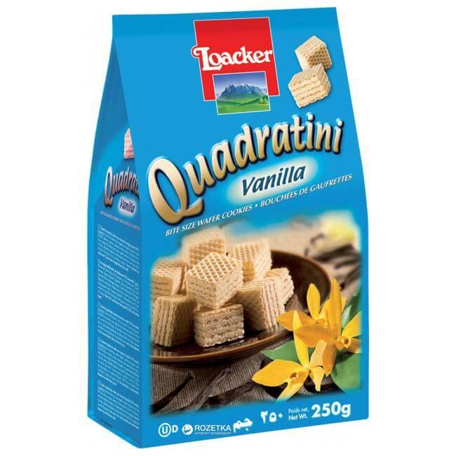 Loacker - Quadratini Vanilla 250g
