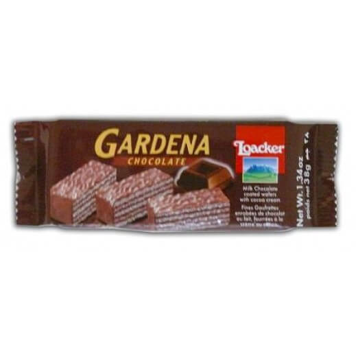 LOACKER GARDENA CHOCOLATE 38 G