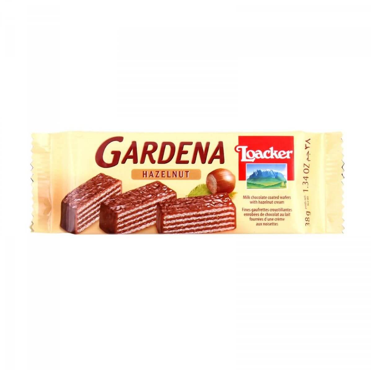 Loacker Gardena Hazelnut Wafer 38g