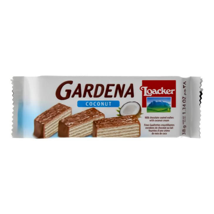 LOACKER GARDENA COCONUT WAFER- 38 G