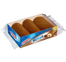 AMERICANA ROLL CAKE CHOCOLATE 3 PIECES