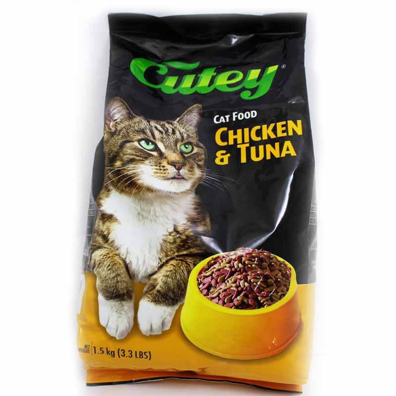 Cutey Cat Food - Chicken & Tuna 1500 g