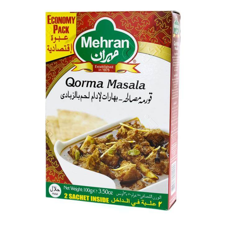 Mehran Spices For Meat & Yogurt Curry 50 G