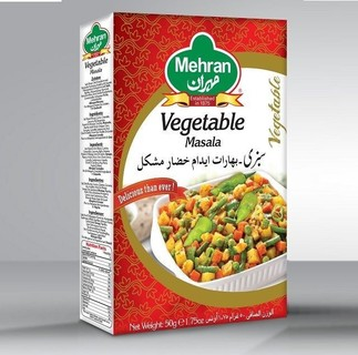Mehran Vegetable Recipe Mix - 50gm