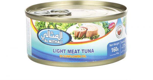Al Mithali Light Meat Tuna 180g