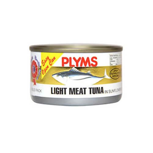 Plyms Tuna In Sunflower Oil Light 95G