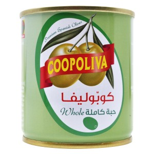 COOPOLIVA G.OLIVES CAN 200G