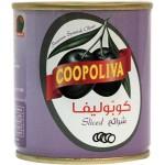 COOPOLIVA BLACK OLIVES CAN 100G