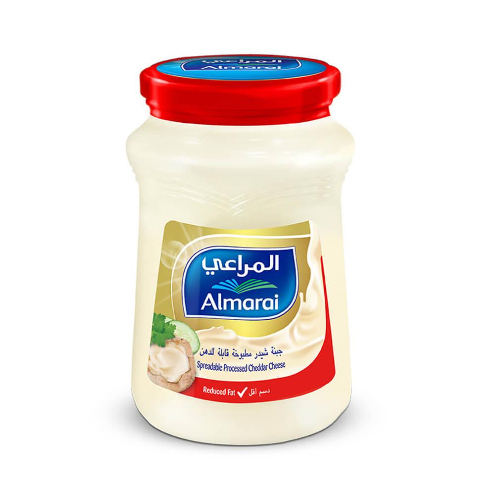 Almarai Spreadable Processed Cheddar Cheese - Reduced Fat