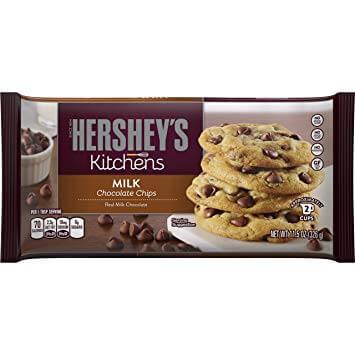 HERSHEY'S Kitchens Baking Chips, Milk Chocolate Chips 275 g