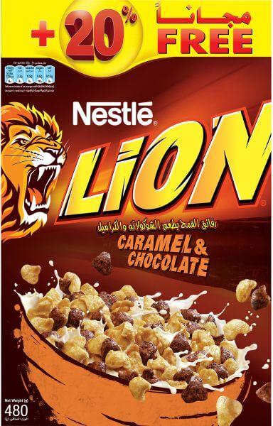 Nestlé Lion Breakfast Cereal 480 g
