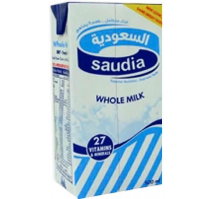 Saudia Milk Whole 500 ml