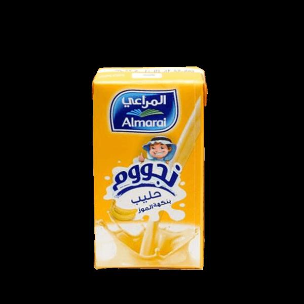 Nijoom Banana Flavoured Milk 150ml