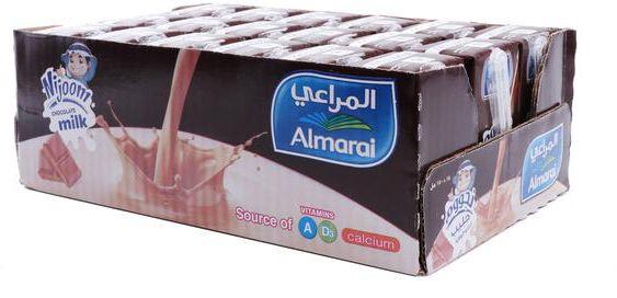 Almarai Milk Nijoom Chocolate Flavor 18*150 ml