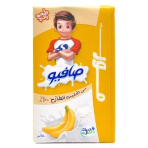 Safio Long Life Milk - Banana 150 ml