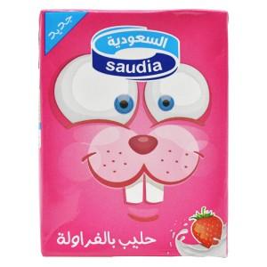 Saudia Milk Strawberry 200ml
