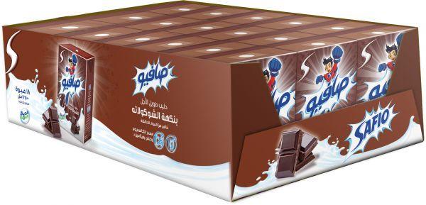 Safio Choclate Milk 18X200ml