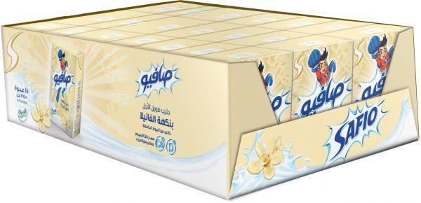 Safio Vanilla Milk 18X200ml