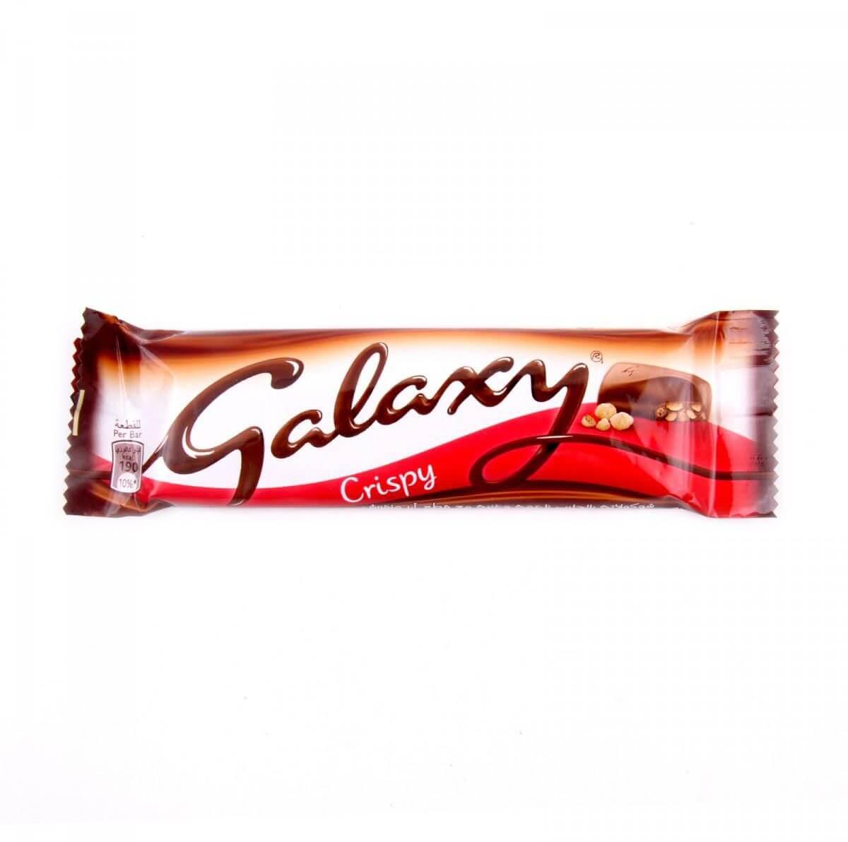 Galaxy Crispy Chocolate 40g
