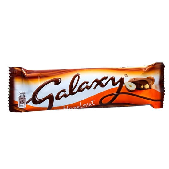 Galaxy Hazelnut Chocolate 40g