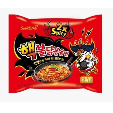 Extra Hot Chicken Flavor Ramen (140g)