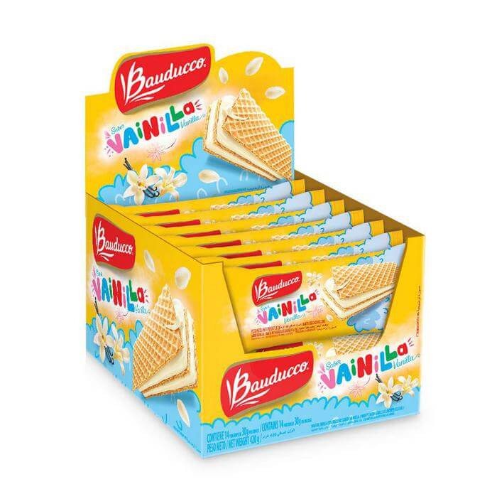 DISPLAY MINI WAFER VANILLA