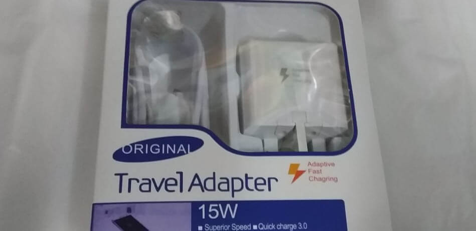 Travel AC Adapter 15W Fast Home Charger – White in Retail Pack