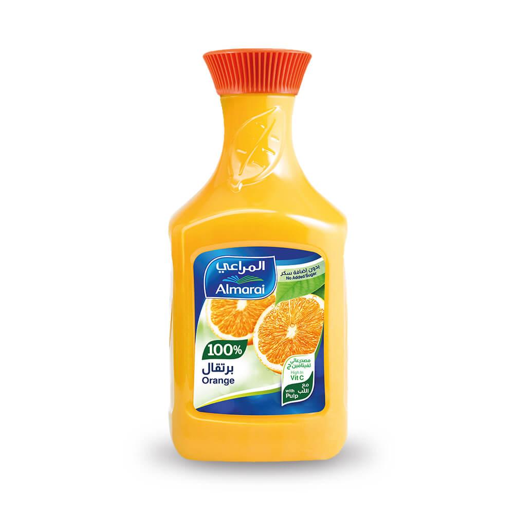 Almarai Orange 100% with Pulp