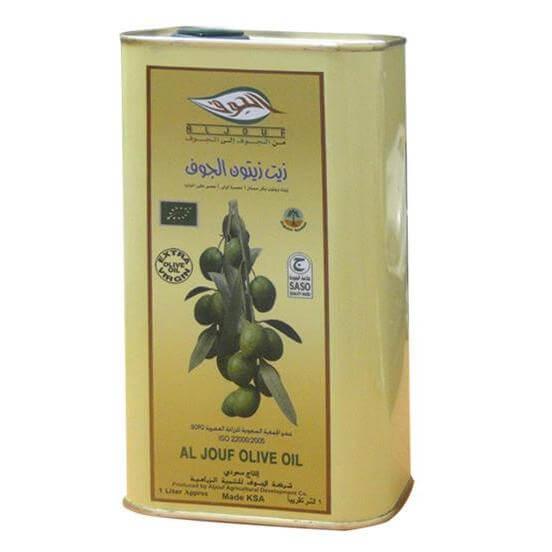 Aljouf Olive Oil Tin 1 Ltr