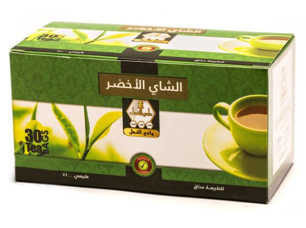 Wadi Alnahil Tea Green Tea 30 Sachets