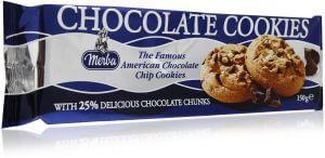 MERBA CHOCOLATE COOKIES 150G