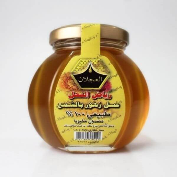 Honey with wax flowers_AlAjlan 250g