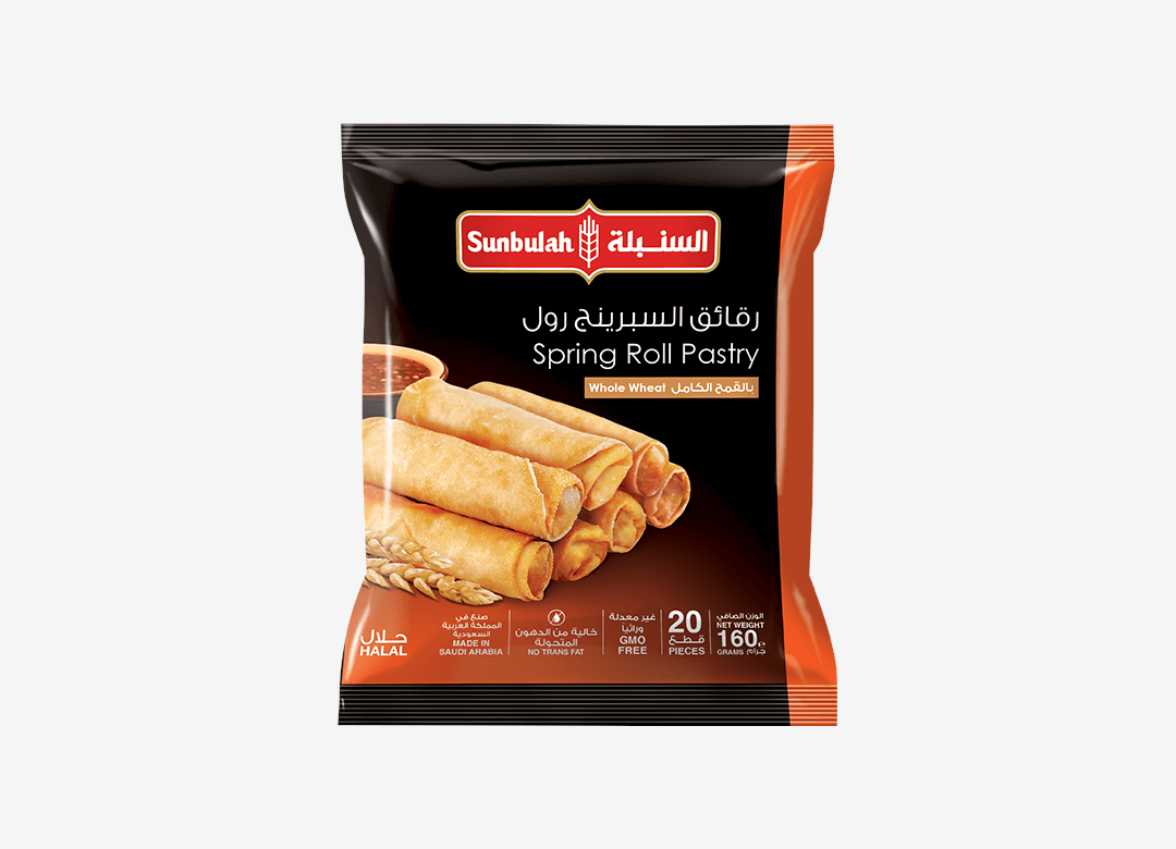 Spring Roll Pastry Whole Wheat
