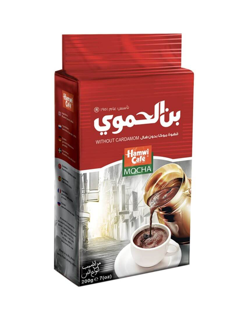Hamwi Cafe Mocha Turkish Coffee 200 g