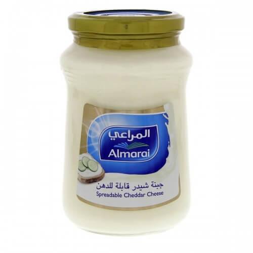 Almarai Spreadable Cheddar Cheese - 500 gm