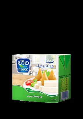 Nadec Feta White Cheese Full Fat
